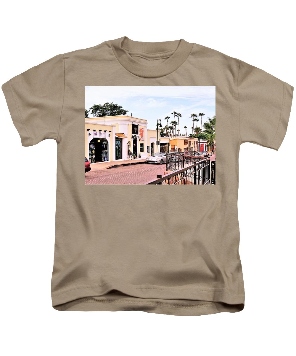Neighbourhood Kids T-Shirt featuring the photograph Art Neighbourhood by Marilyn Alexander