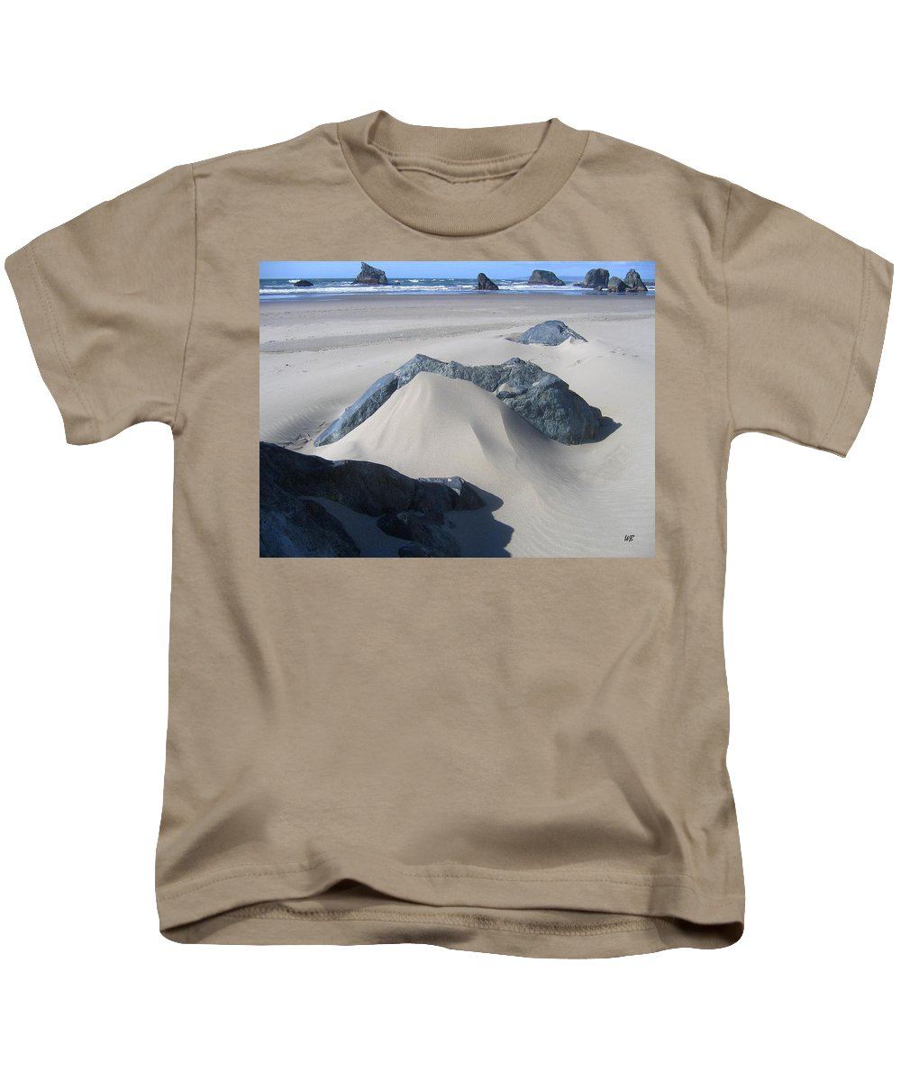 Bandon Kids T-Shirt featuring the photograph Bandon 15 by Will Borden