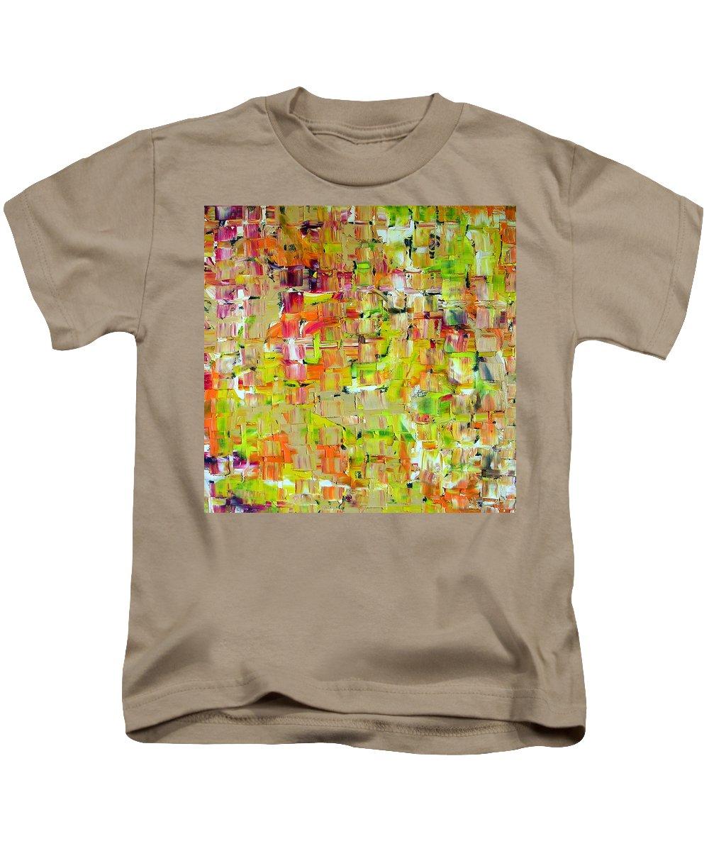 Banshee Kids T-Shirt featuring the painting Banshee by Dawn Hough Sebaugh