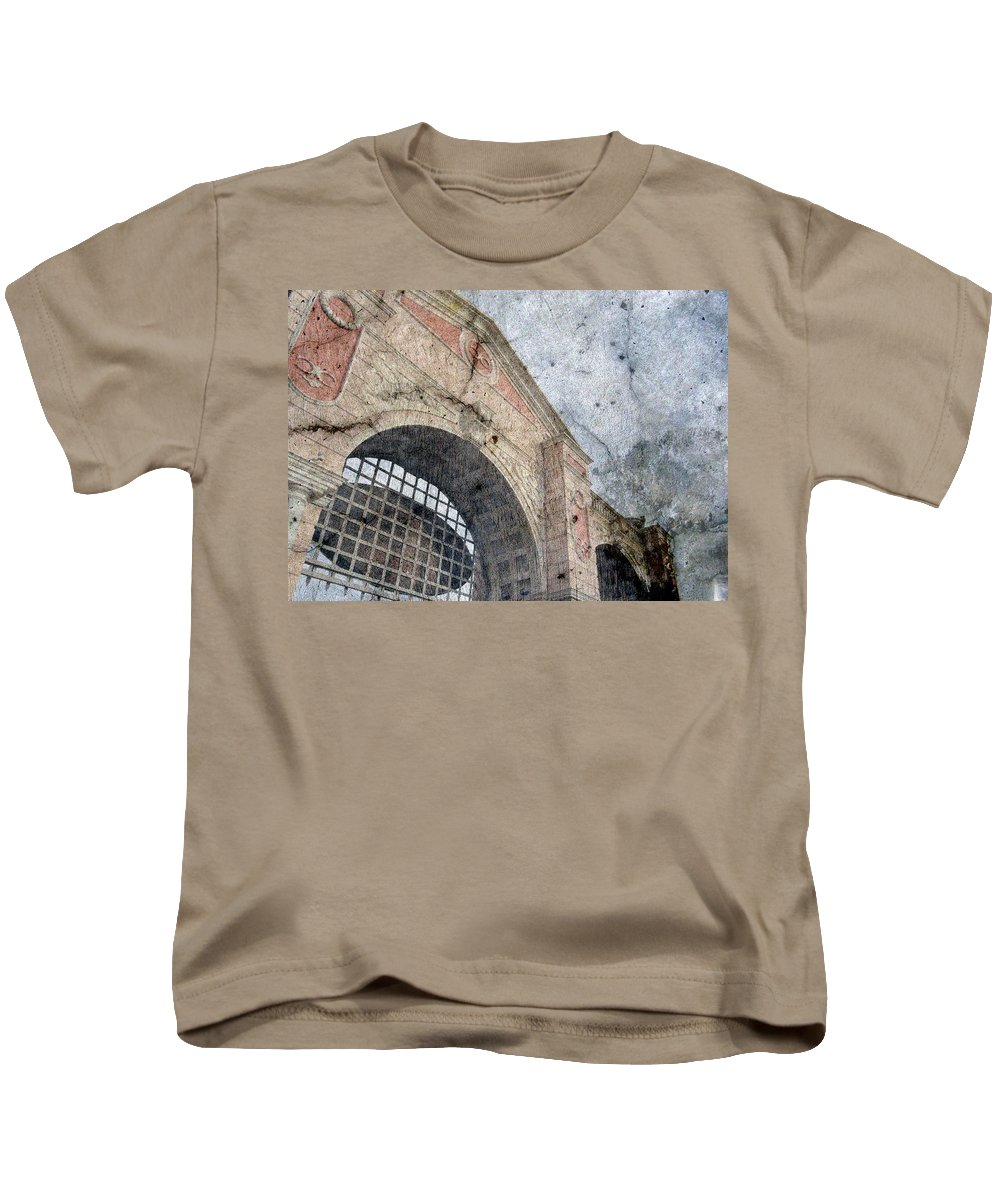 Beyond Kids T-Shirt featuring the photograph Beyond The Gates by Derick Burke