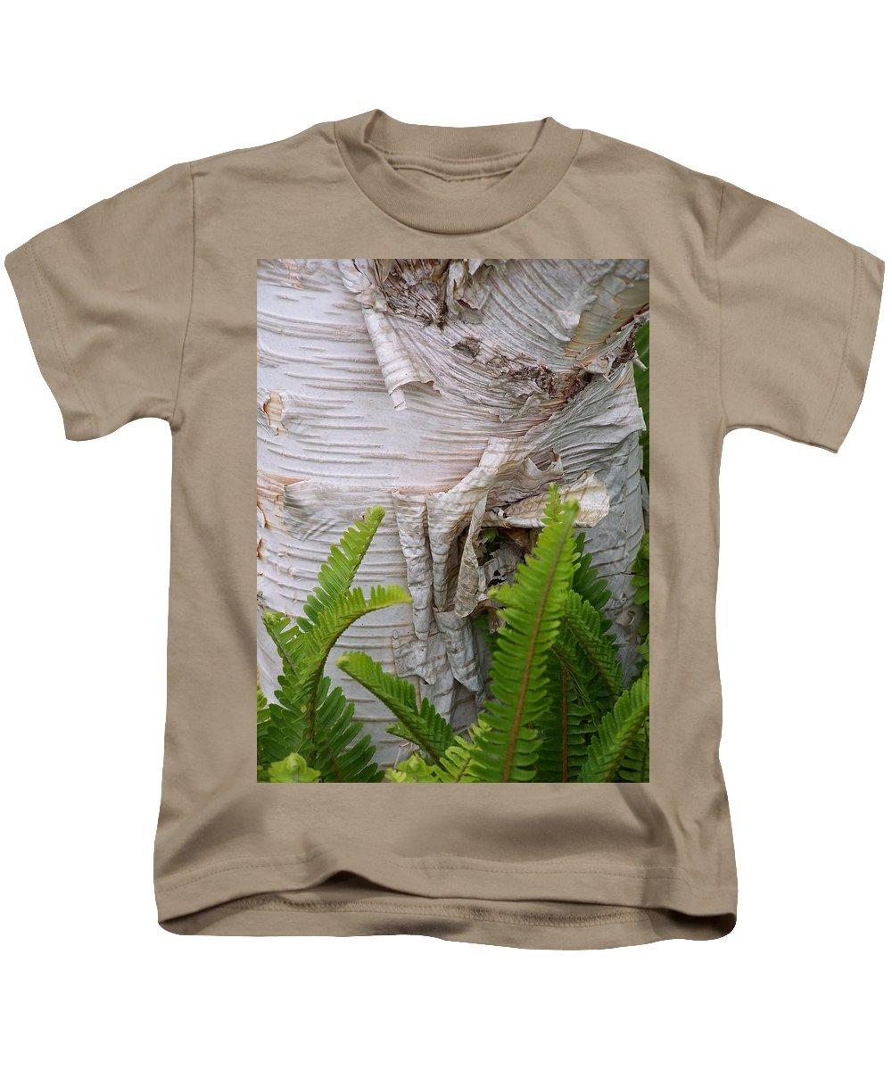 Tree Kids T-Shirt featuring the photograph Birch Fern by Gale Cochran-Smith
