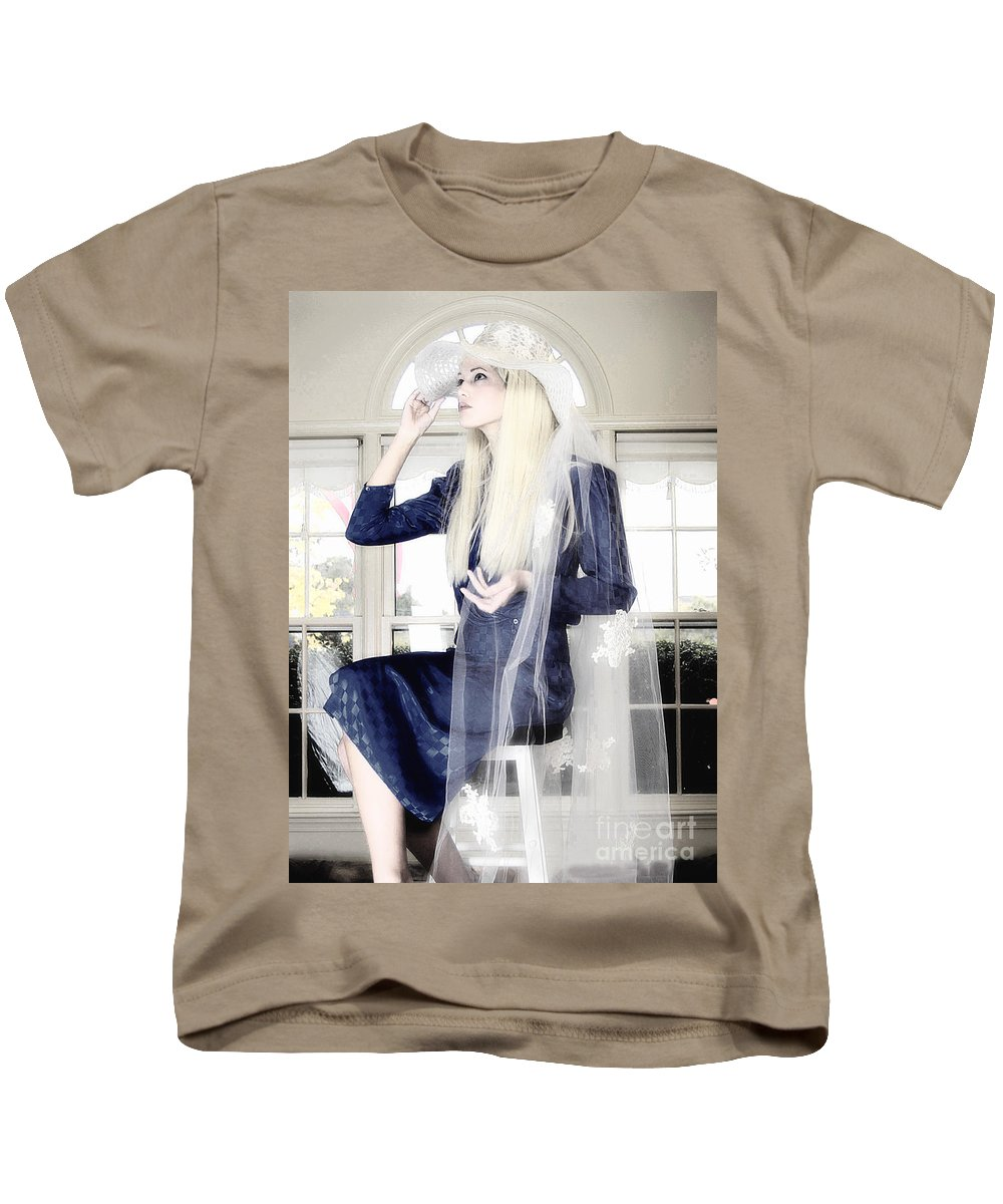 Clay Kids T-Shirt featuring the photograph Blanco Beauty by Clayton Bruster