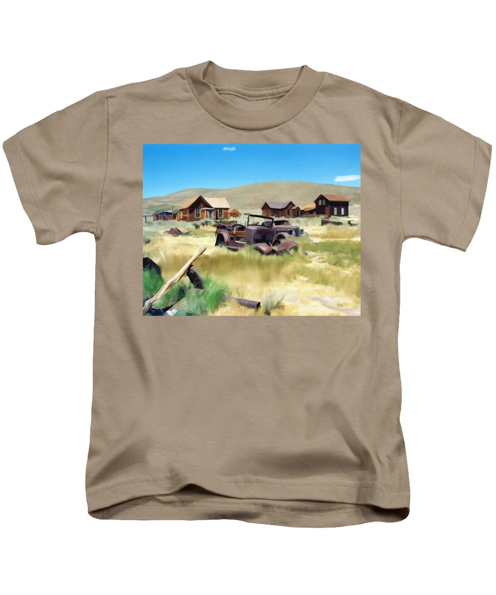 Bodie Kids T-Shirt featuring the photograph Bodie by Kurt Van Wagner
