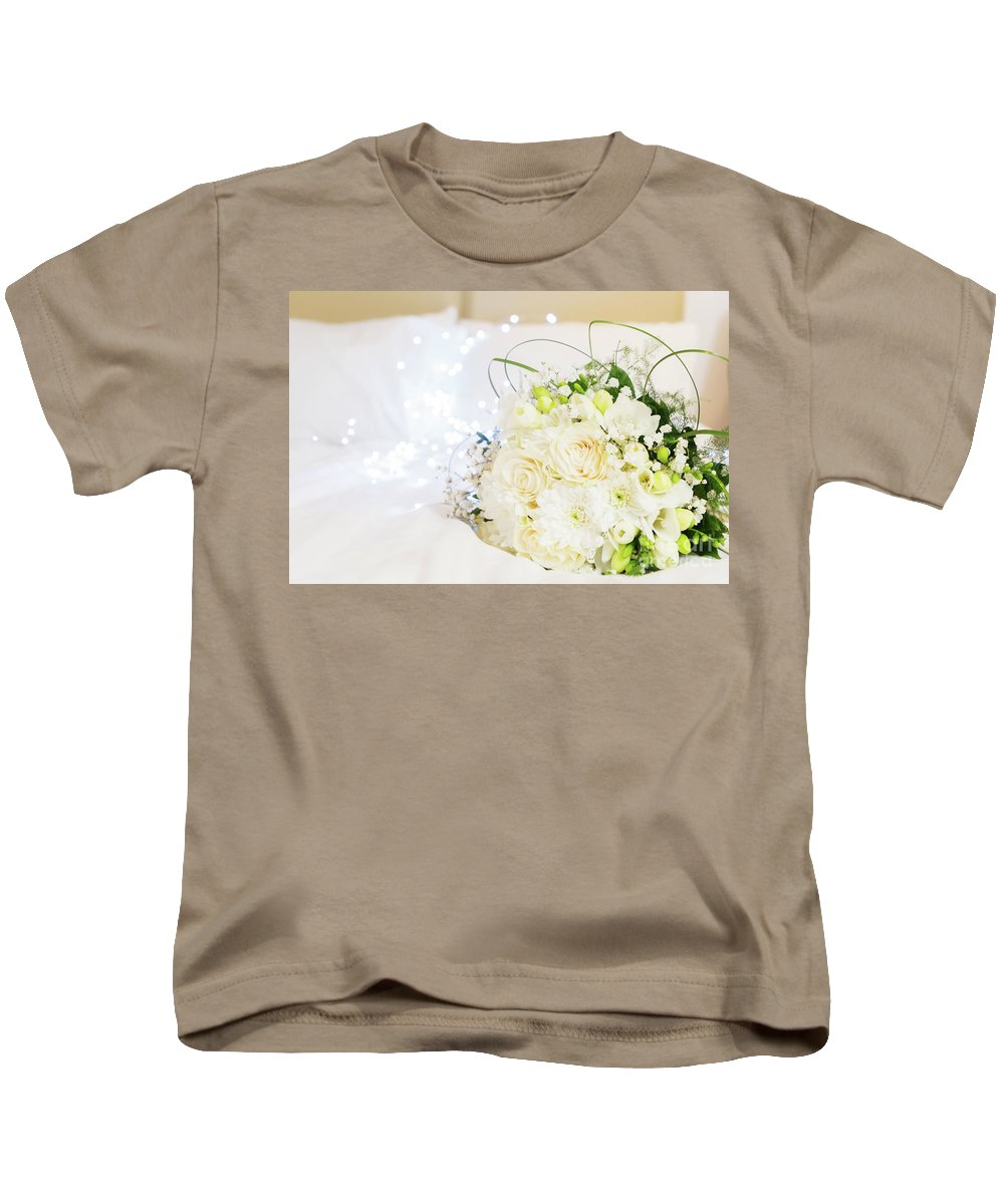 Roses Kids T-Shirt featuring the photograph Romantic Night by Anastasy Yarmolovich