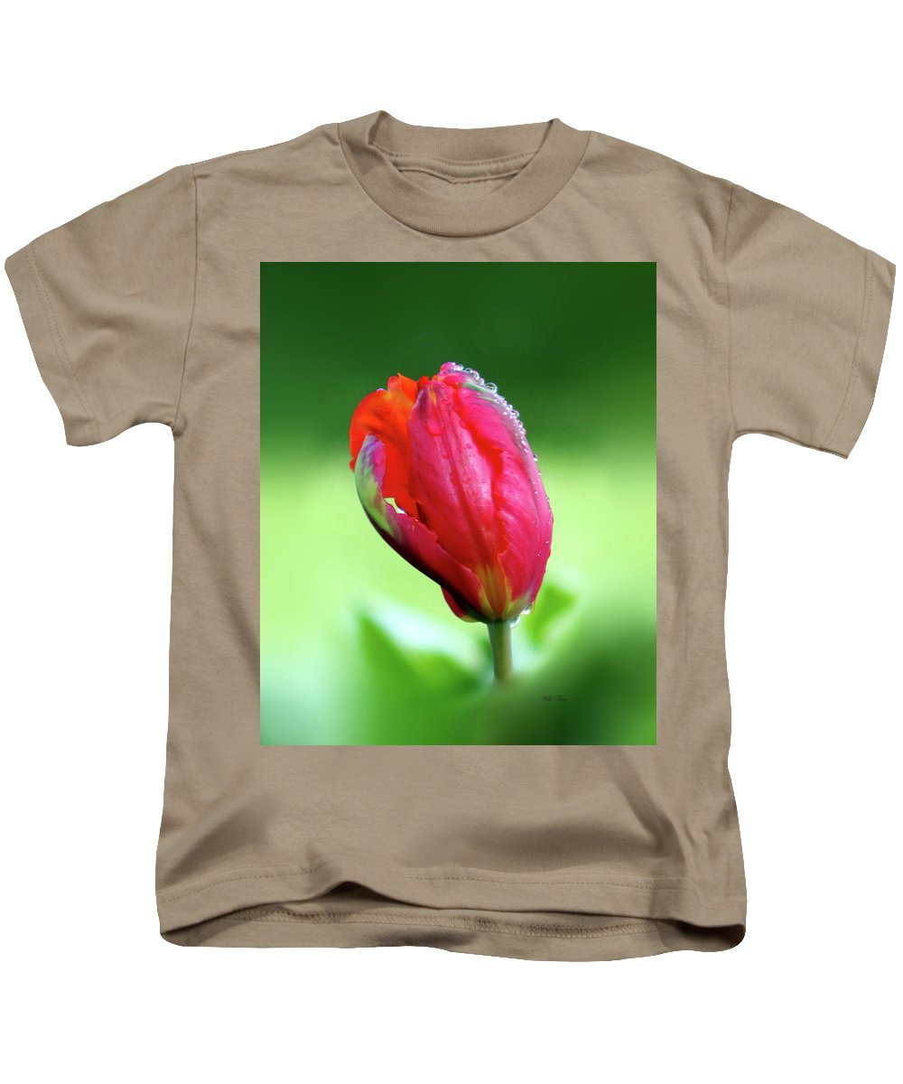 Spring Kids T-Shirt featuring the photograph Breathless Beauty by Wild Thing