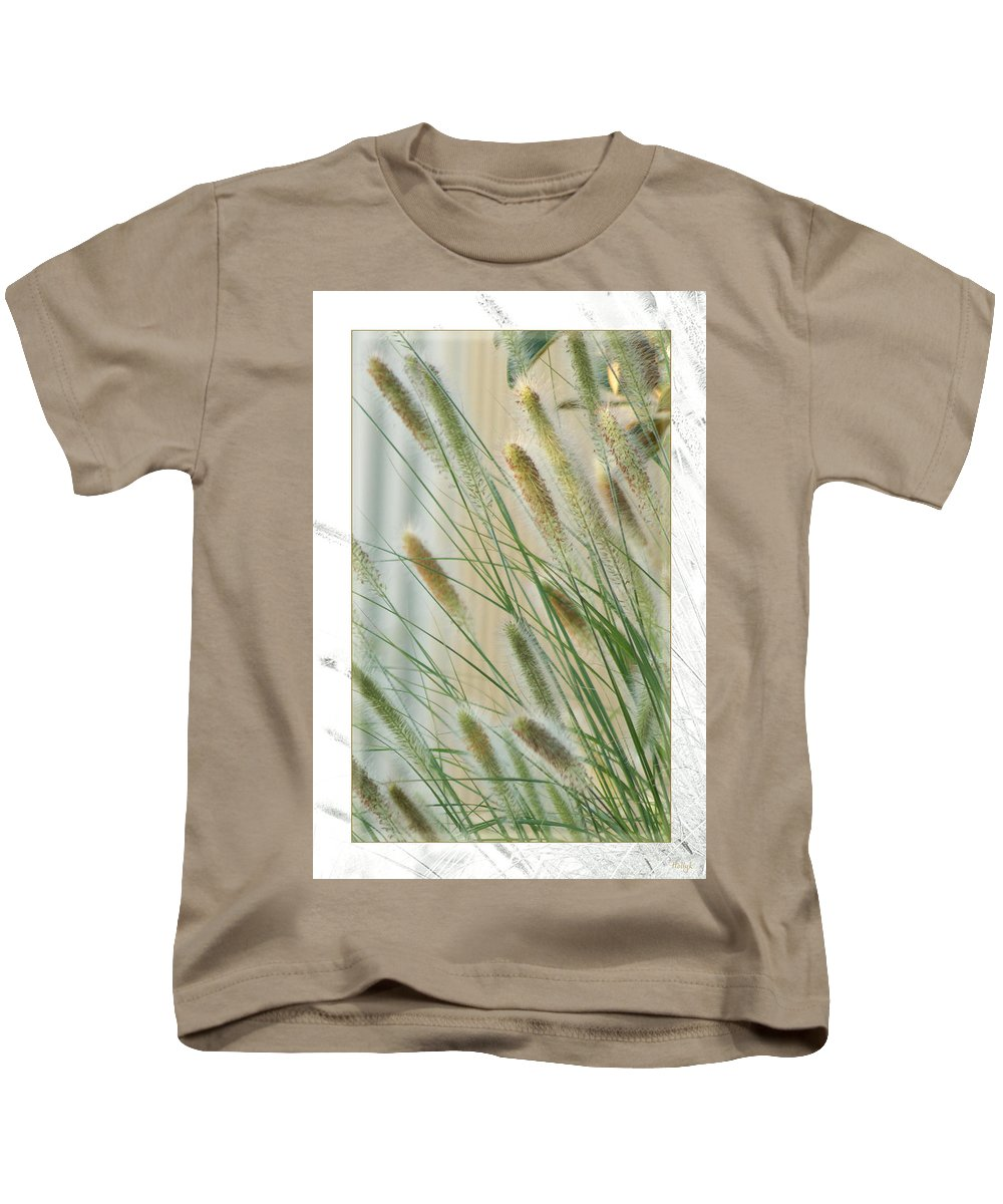 Floral Kids T-Shirt featuring the photograph Breeze by Holly Kempe