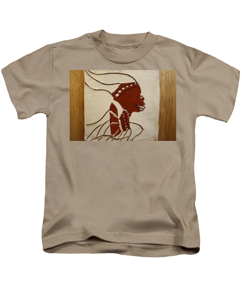 Jesus Kids T-Shirt featuring the ceramic art Bride 2 - Tile by Gloria Ssali