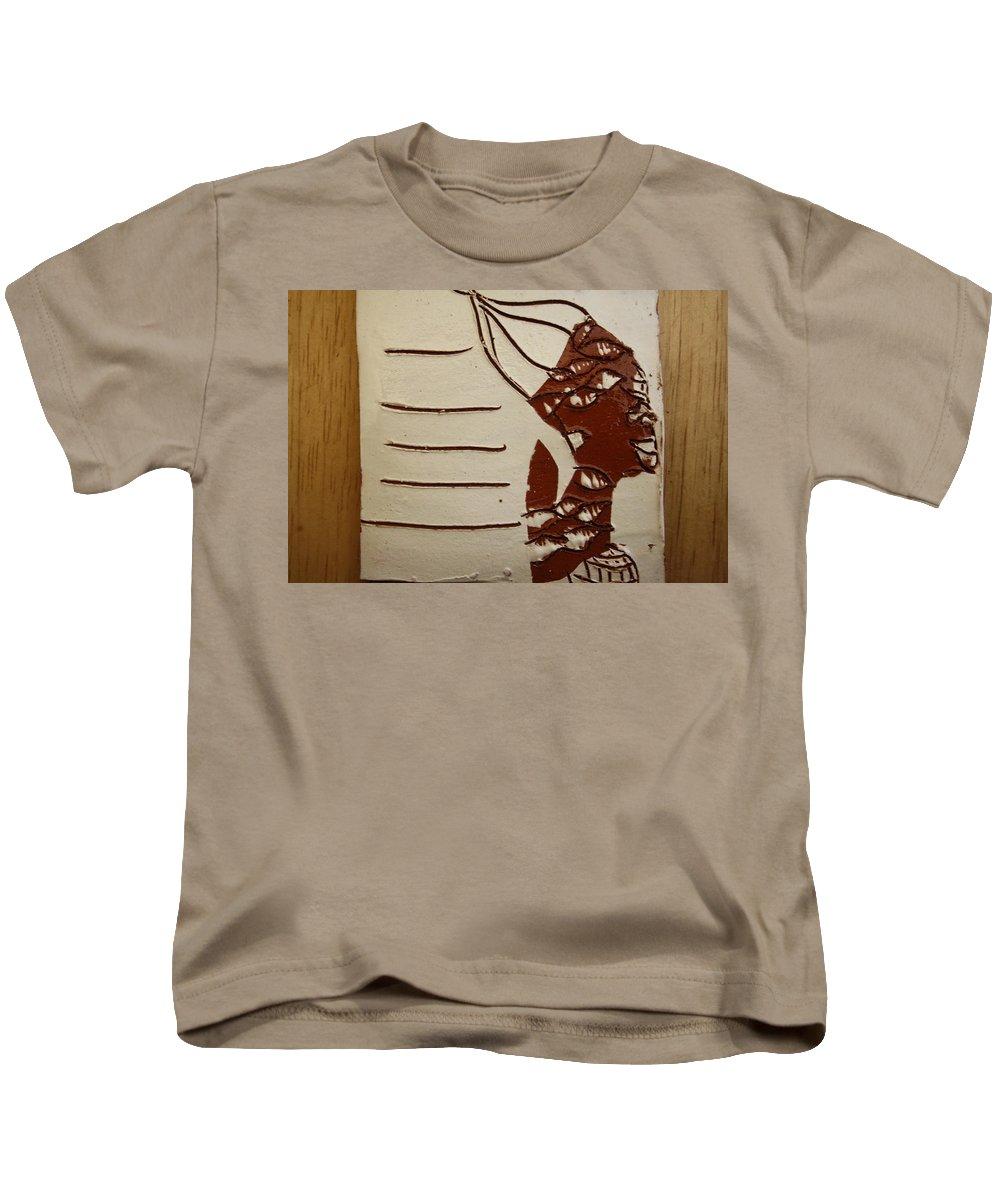 Jesus Kids T-Shirt featuring the ceramic art Bride 8 - Tile by Gloria Ssali
