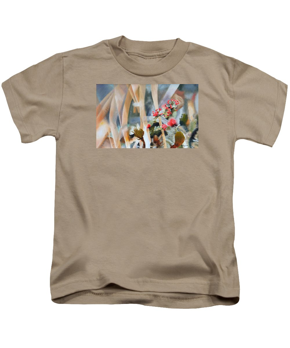 Nature Kids T-Shirt featuring the painting British Soldiers by Dave Martsolf