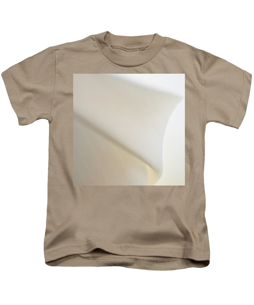 Abstract Kids T-Shirt featuring the photograph Calla Details 6 by Heiko Koehrer-Wagner