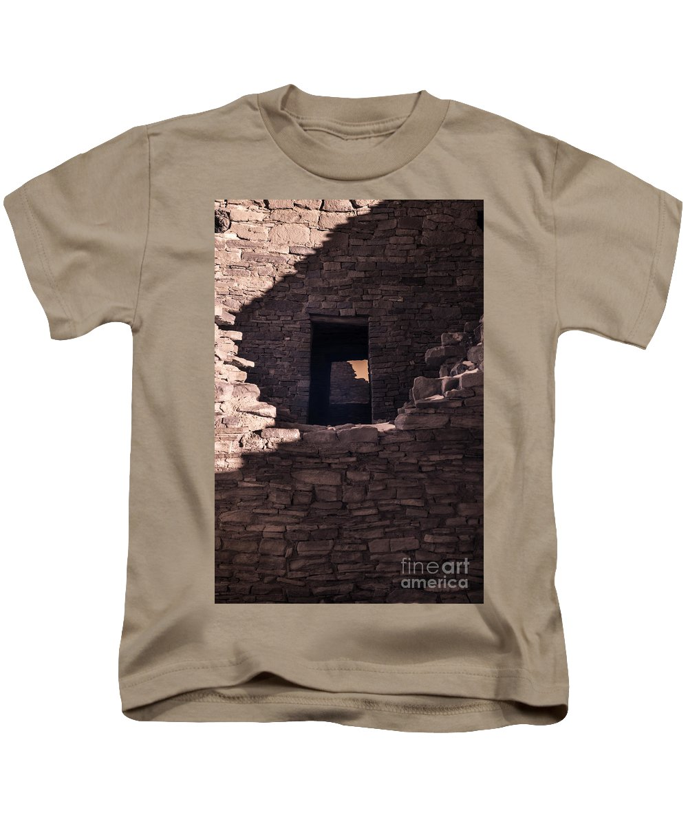 Chaco Ventana Kids T-Shirt featuring the digital art Chaco Ventana by William Fields