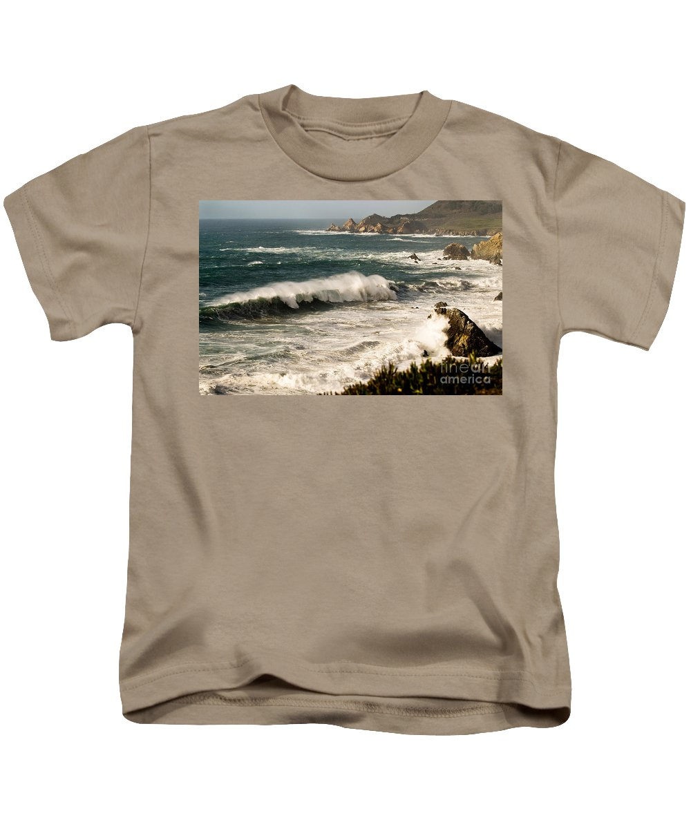 Costal Kids T-Shirt featuring the photograph Classic California Surf by Norman Andrus