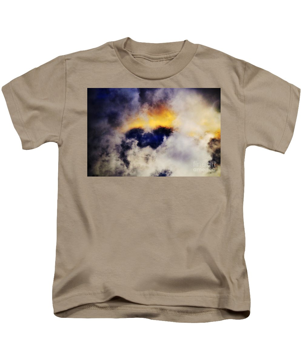 Clay Kids T-Shirt featuring the photograph Cloud Sculping by Clayton Bruster