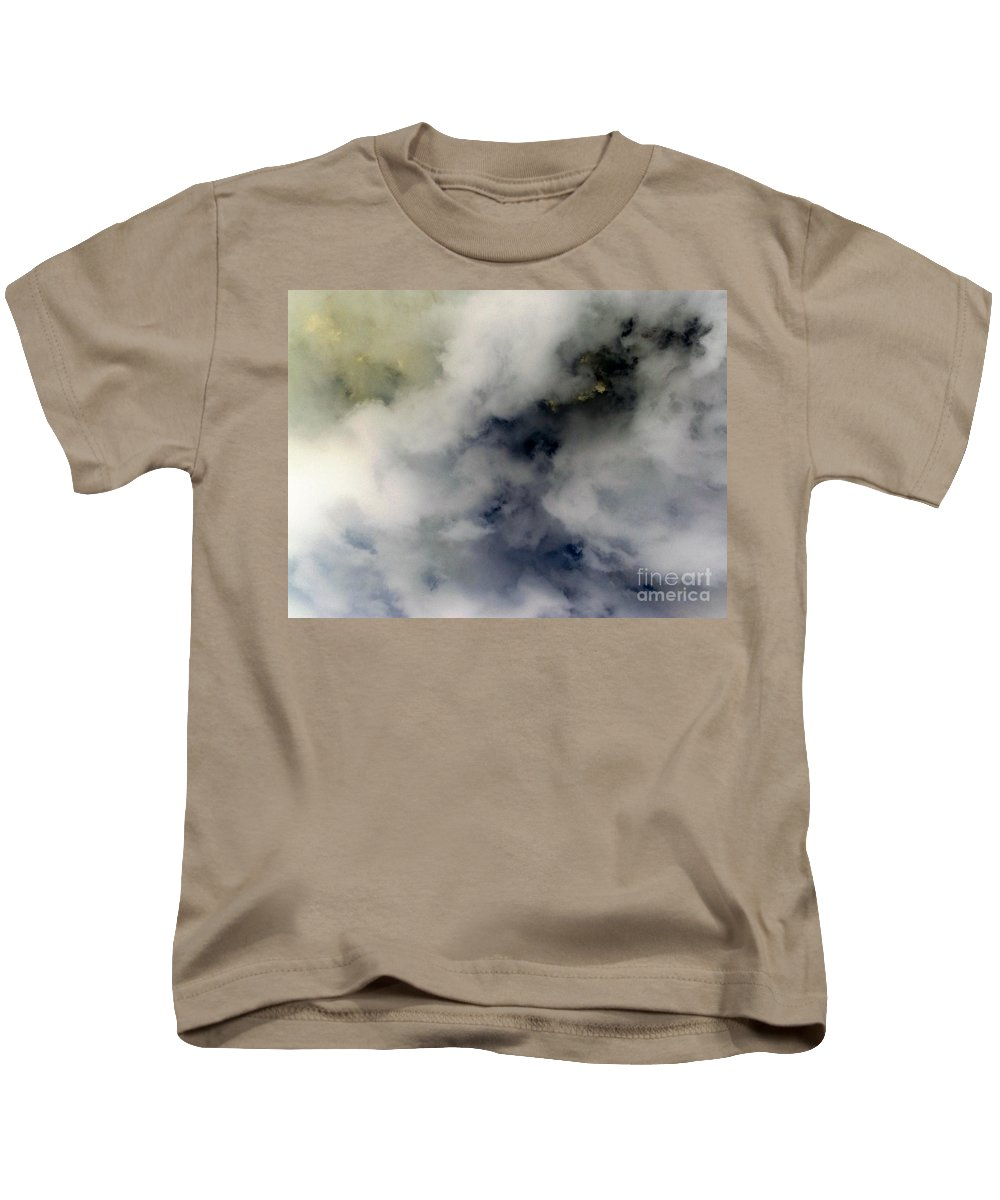 Clouds Kids T-Shirt featuring the photograph Clouds Before The Storm by Debra Lynch