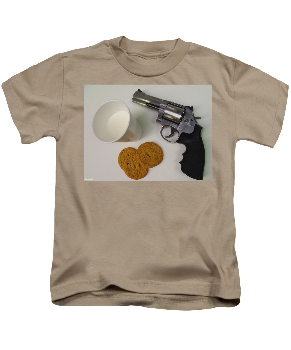 Still Life Kids T-Shirt featuring the photograph Cowboy Junky by Ed Smith