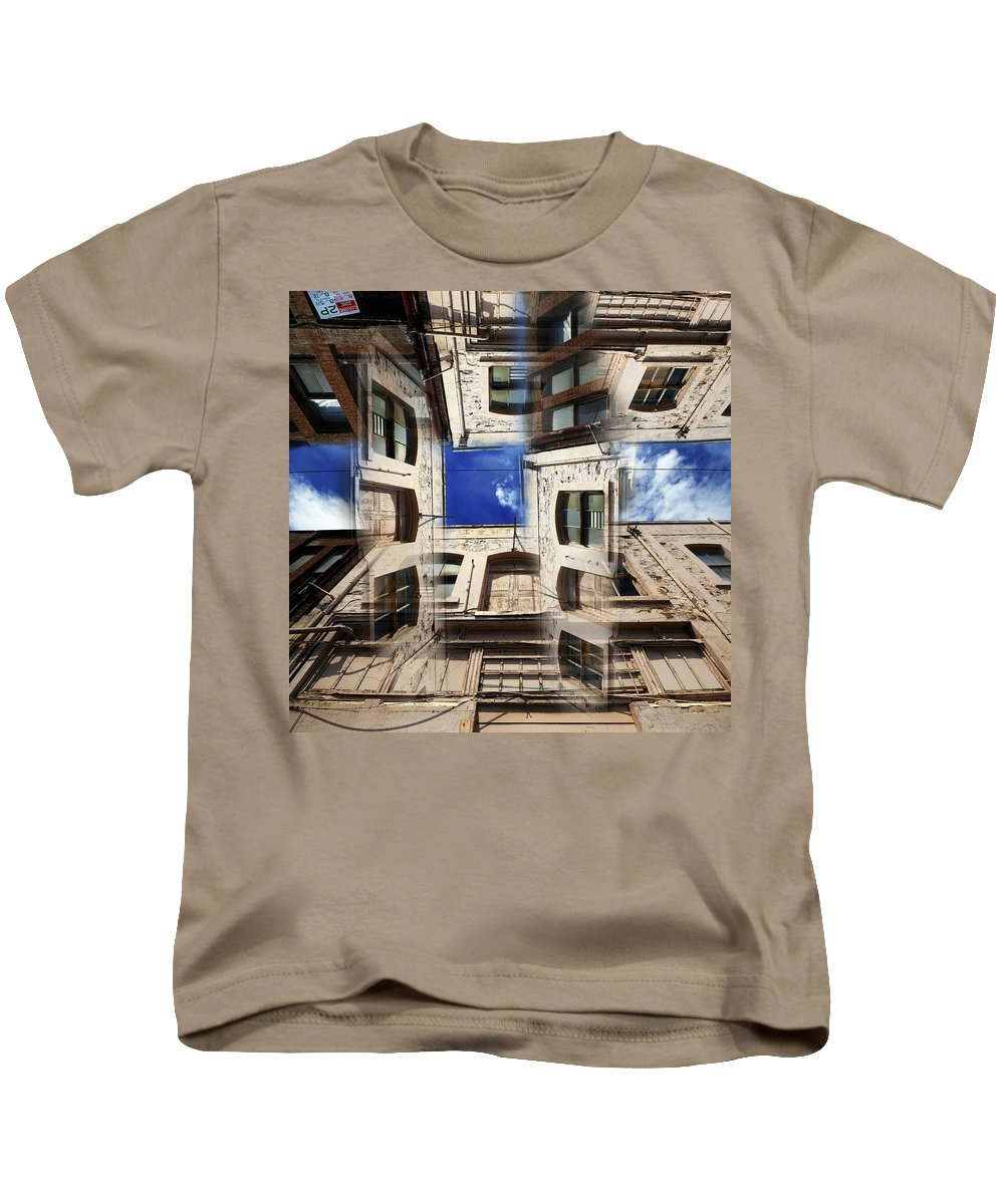 Abstract Kids T-Shirt featuring the photograph Deception by Wayne Sherriff