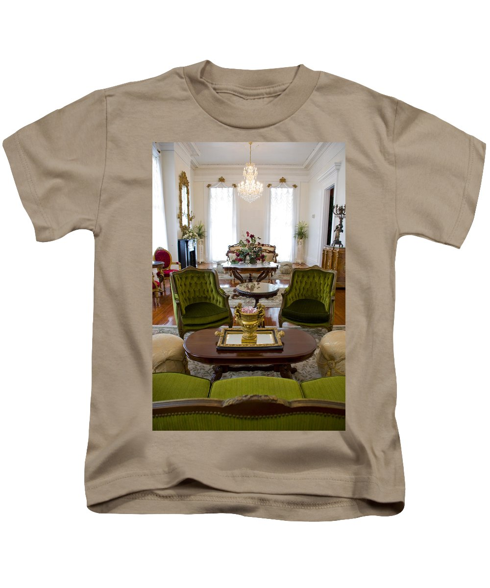 Mansion Kids T-Shirt featuring the photograph Formal Dining Room by Jennifer Kelly