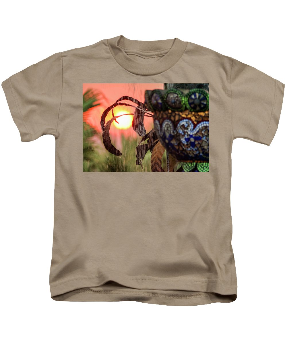 Fountain Kids T-Shirt featuring the photograph Fountain Of Life by Scott Campbell