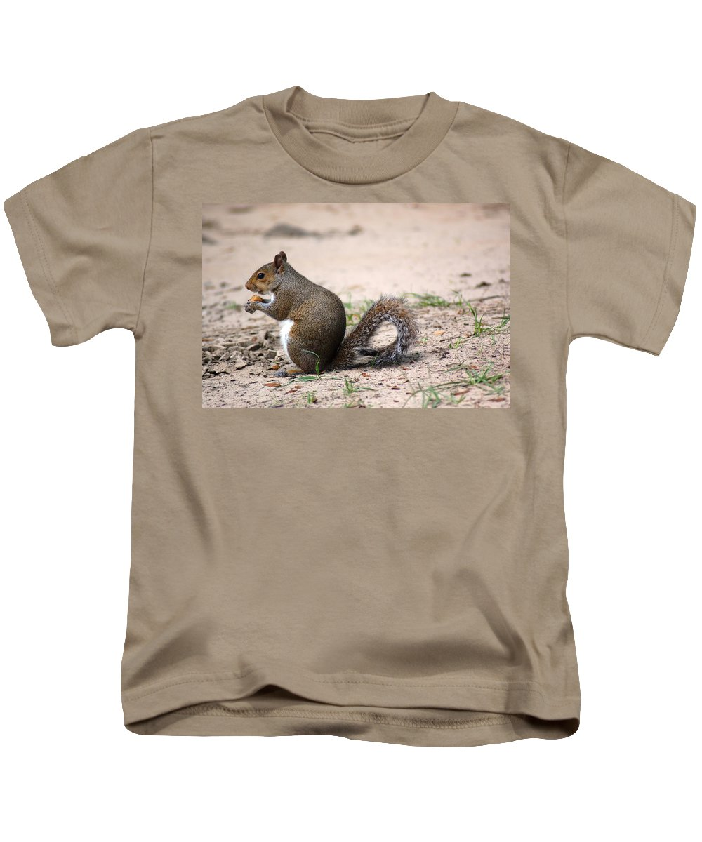 Wild Life Kids T-Shirt featuring the photograph French Fries by Donna Bentley