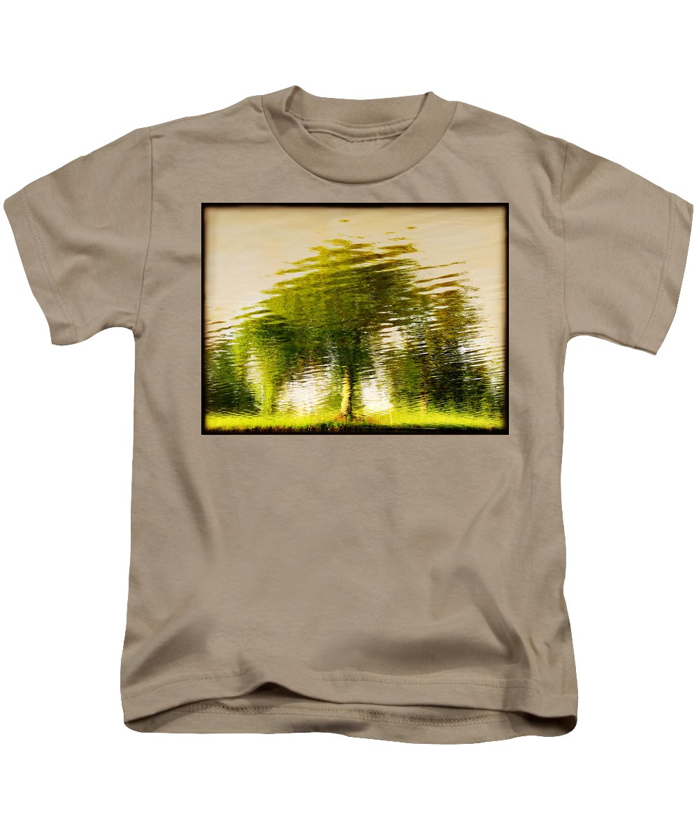 Abstract Kids T-Shirt featuring the photograph Gentle Sun by Dana DiPasquale