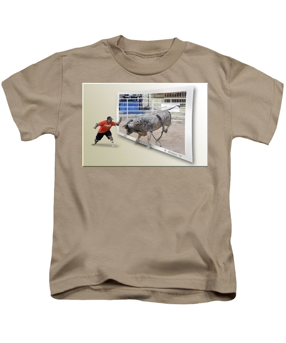 2d Kids T-Shirt featuring the photograph Get Back by Brian Wallace