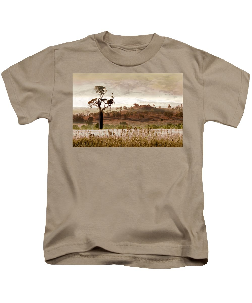 Landscapes Kids T-Shirt featuring the photograph Gondwana Boab by Holly Kempe