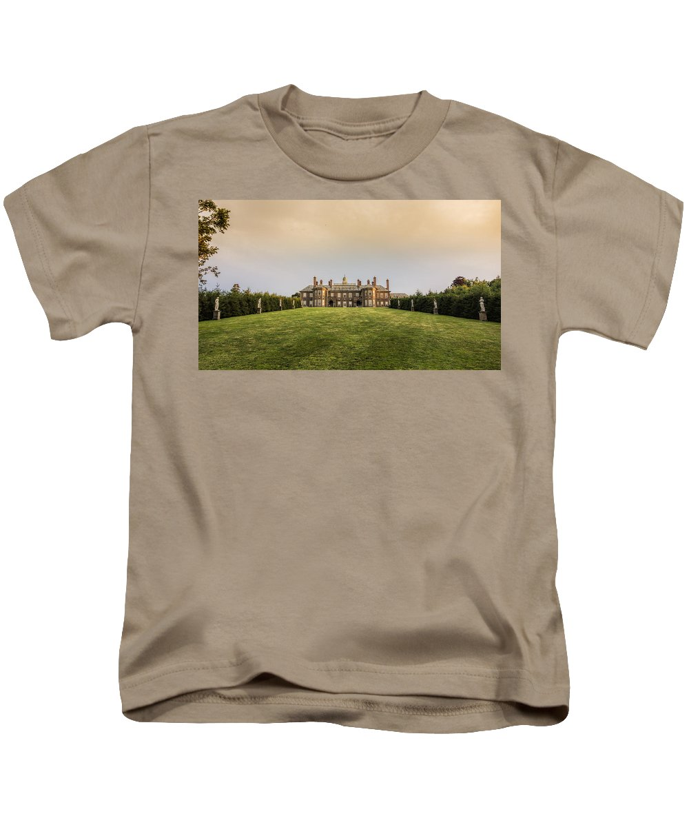 Great House Kids T-Shirt featuring the photograph Great House At Castle Hill by David Stone