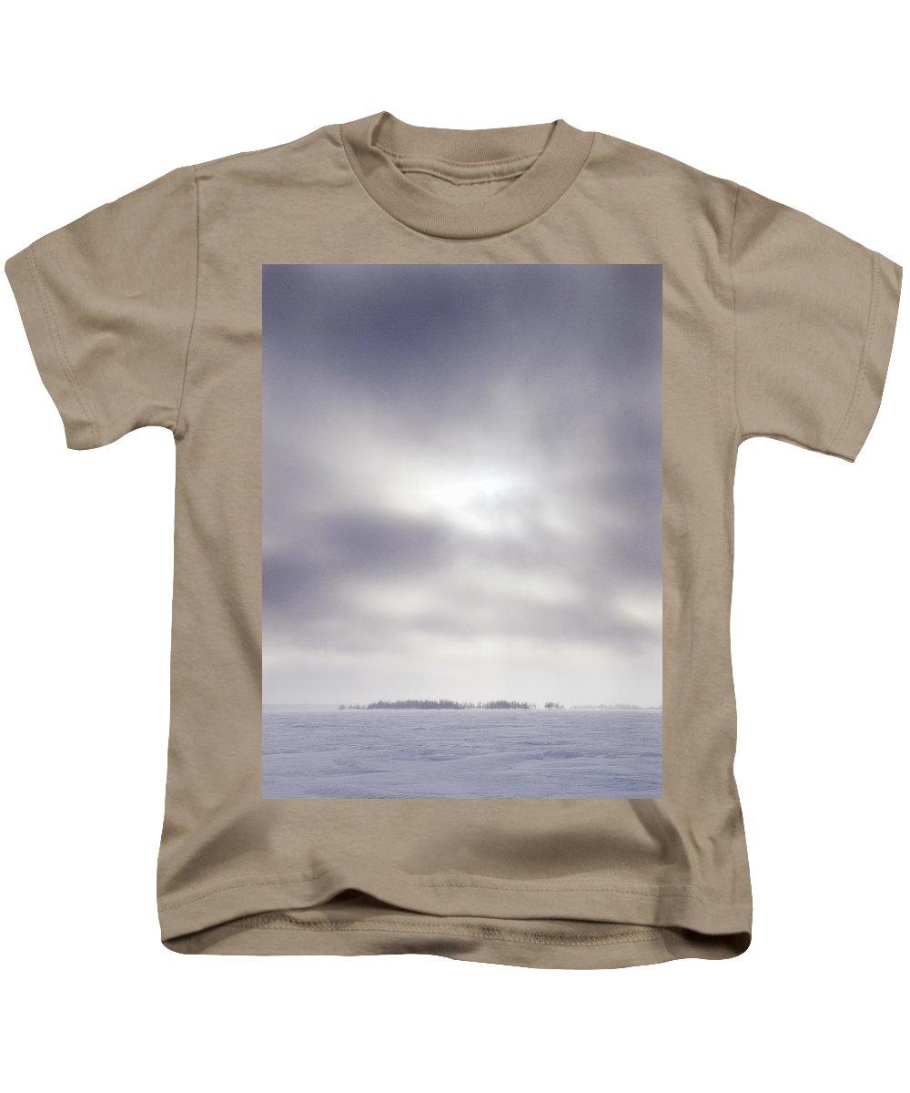 Lehtokukka Kids T-Shirt featuring the photograph Gulf Of Bothnia Variations Nr 14 by Jouko Lehto