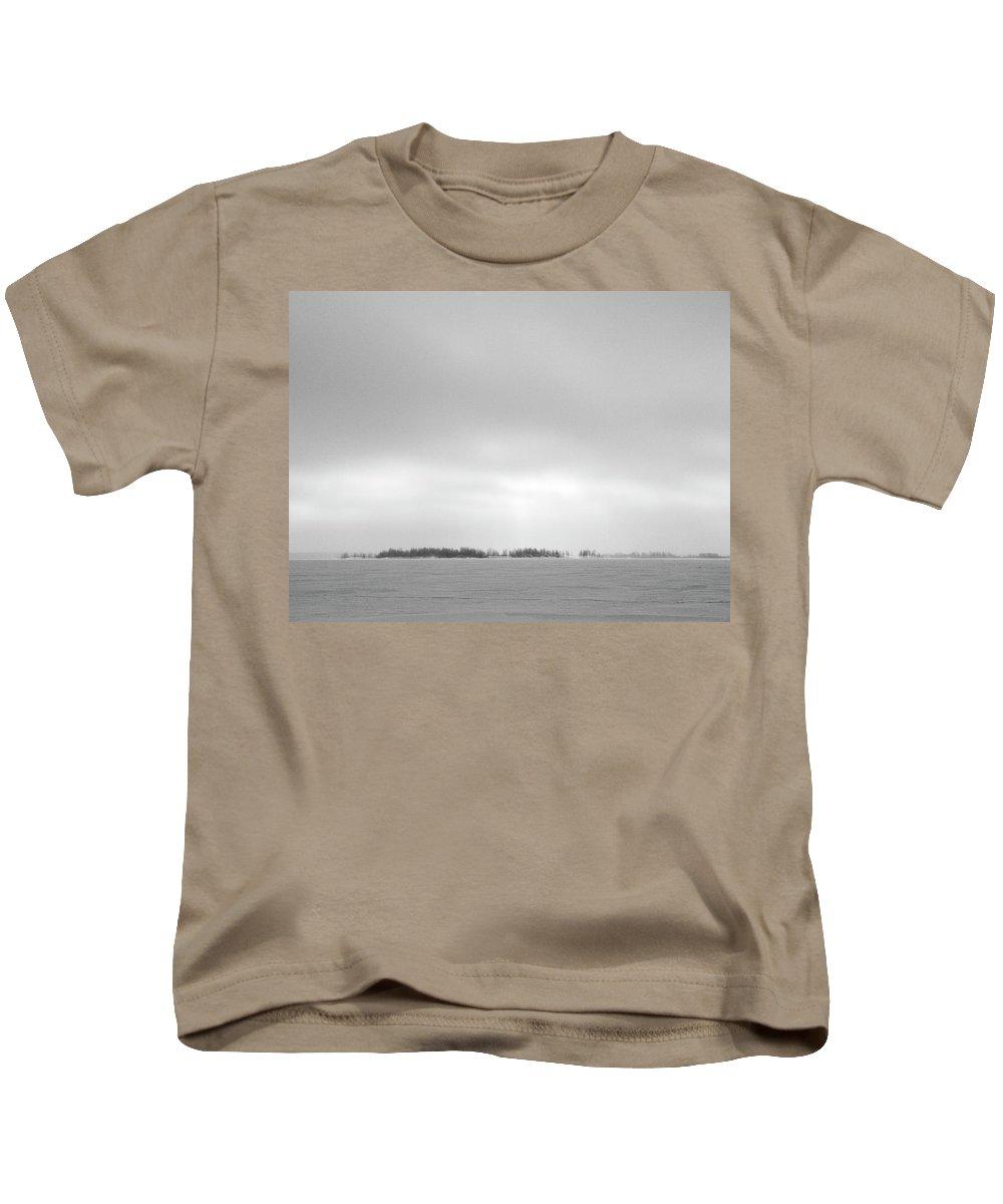 Lehtokukka Kids T-Shirt featuring the photograph Gulf Of Bothnia Variations Nr 3 by Jouko Lehto