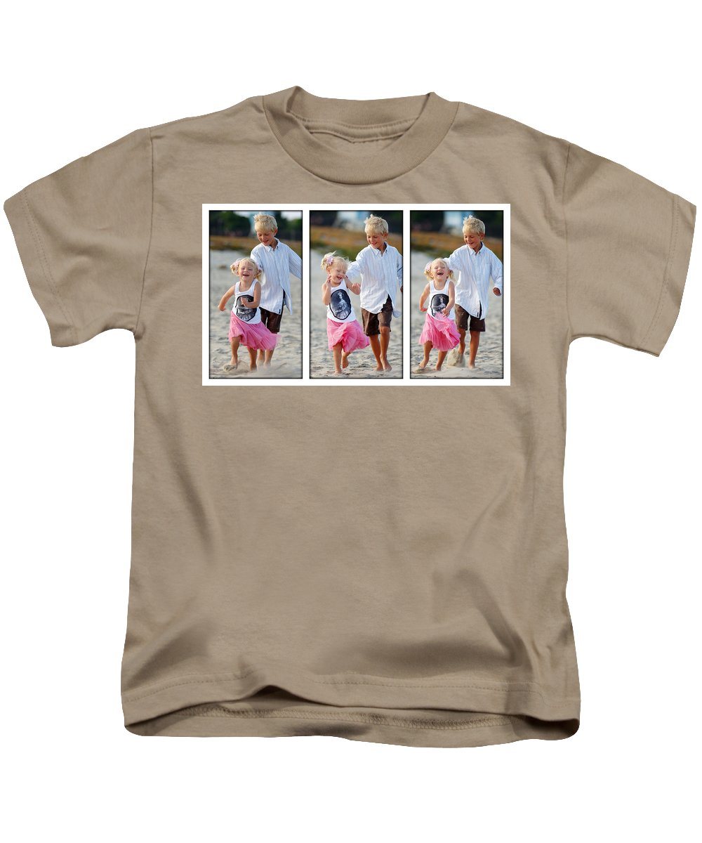 Happy Contest Kids T-Shirt featuring the photograph Happy Contest 15 by Jill Reger