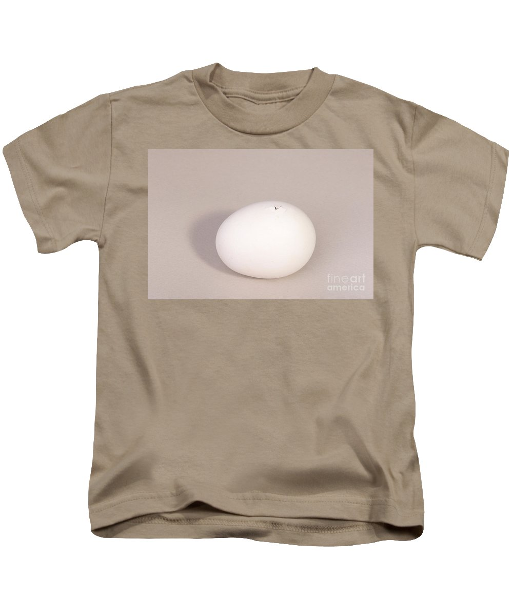 Egg Kids T-Shirt featuring the photograph Hatching Chicken 2 Of 22 by Ted Kinsman