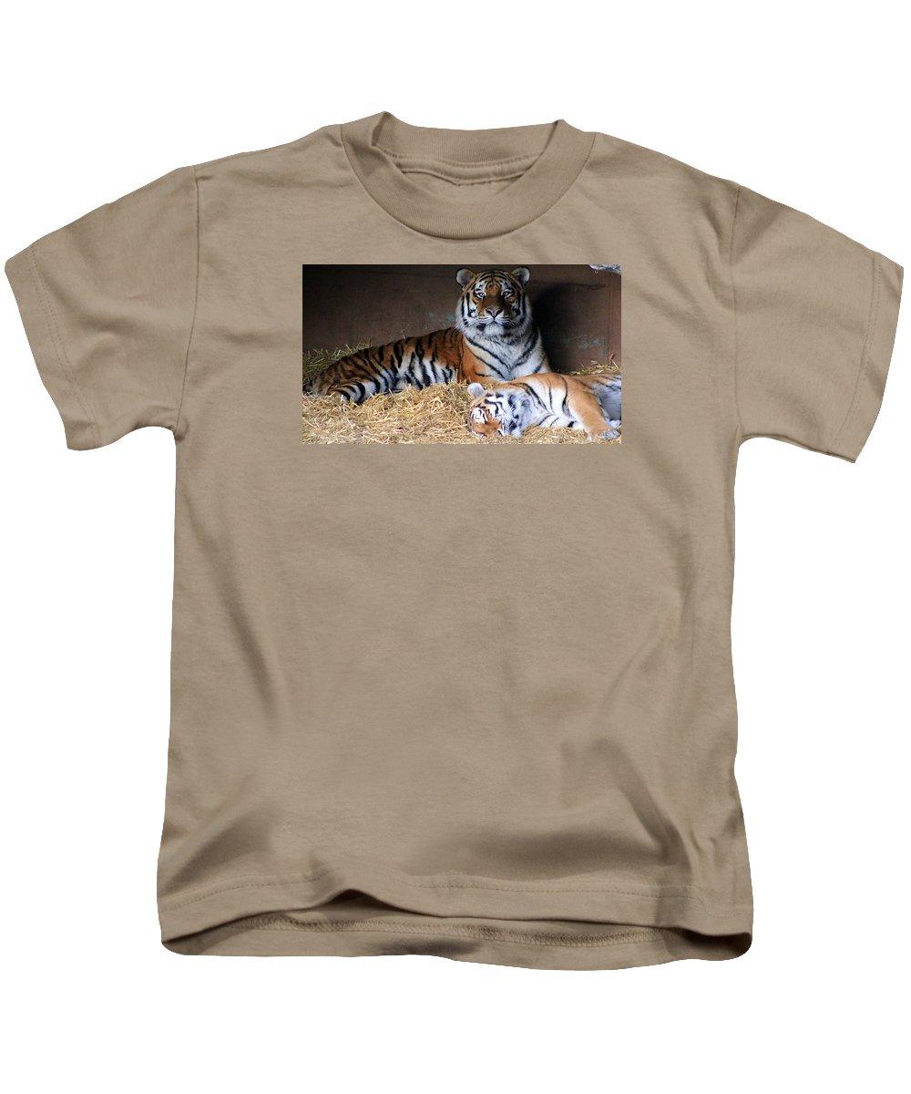 Hellabrunn Zoo - Munich Kids T-Shirt featuring the photograph Hellabrunn Zoo - Munich, Germany by Paul James Bannerman
