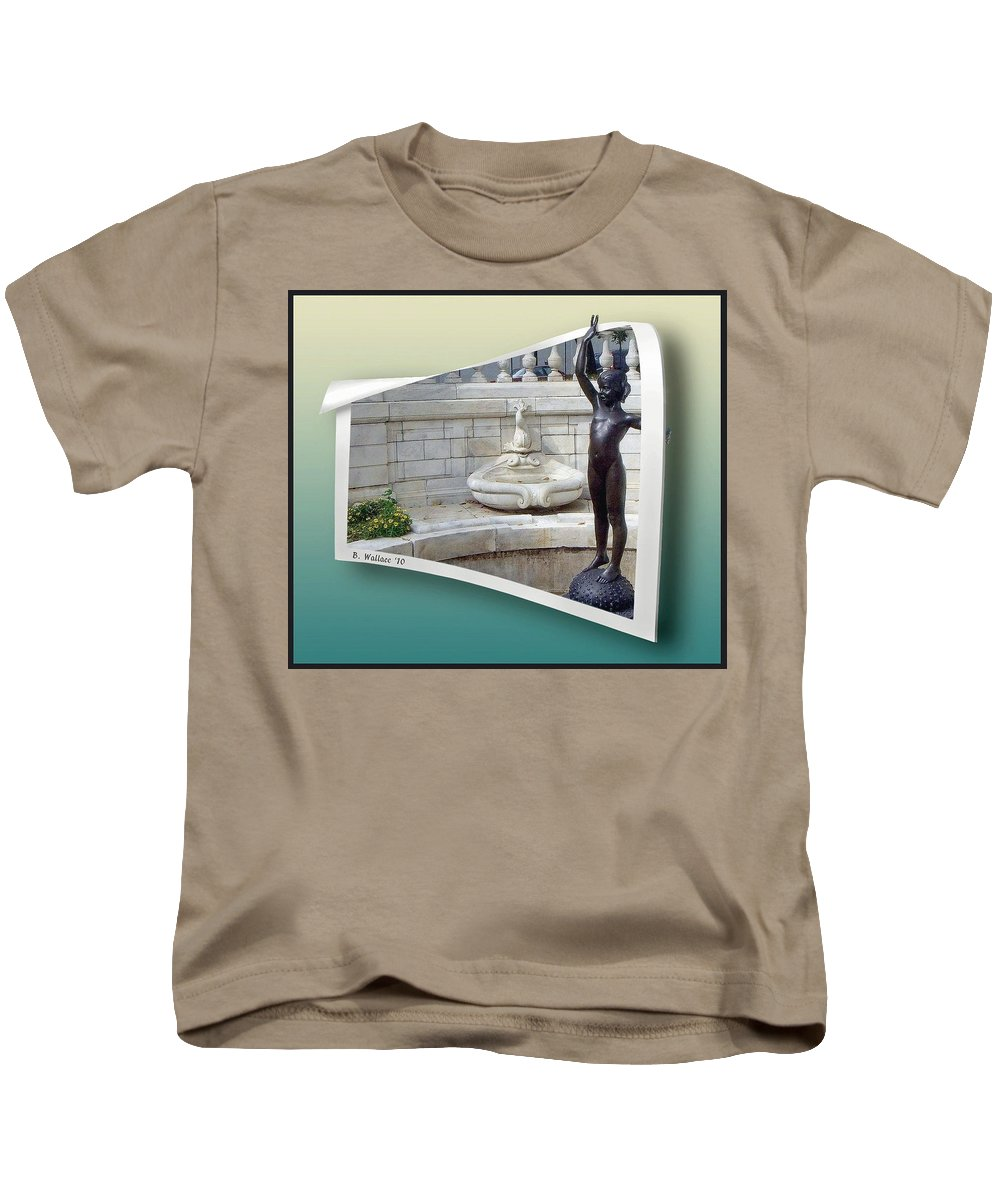 2d Kids T-Shirt featuring the photograph Holding Up My End by Brian Wallace