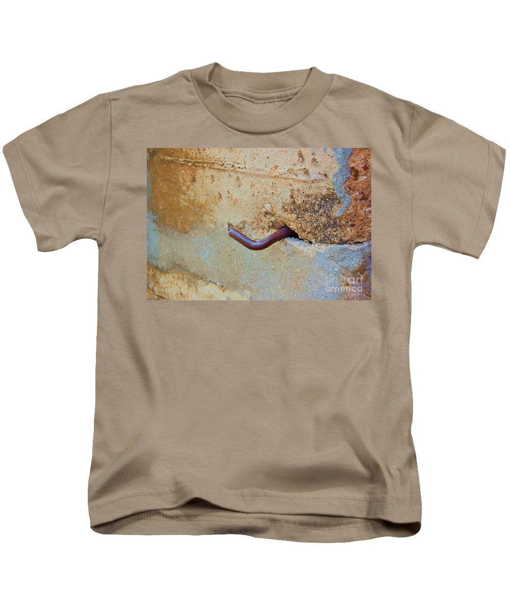 Metal Kids T-Shirt featuring the photograph Hook by Debbi Granruth