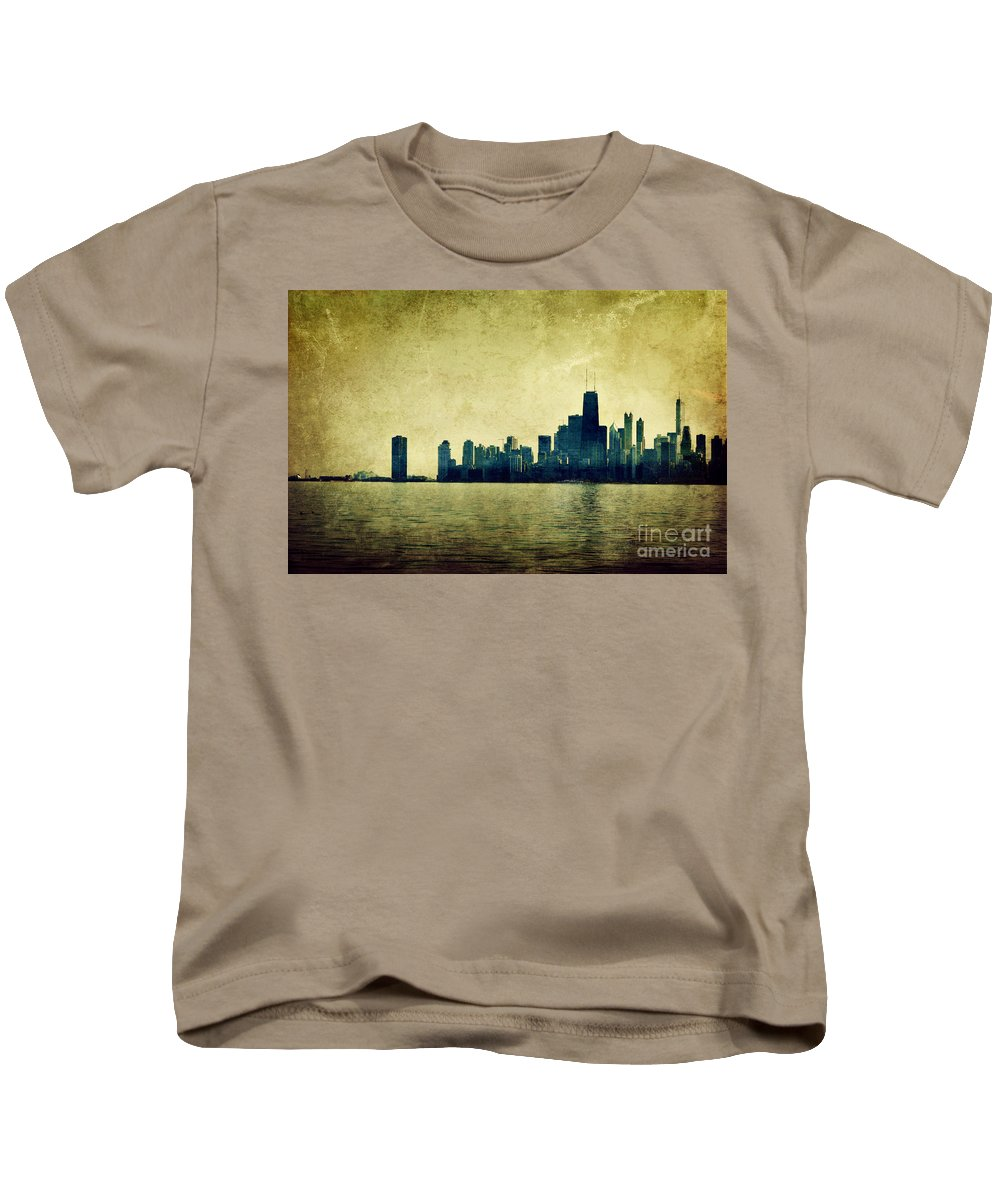 Dipasquale Kids T-Shirt featuring the photograph I Will Find You Down The Road Where We Met That Night by Dana DiPasquale