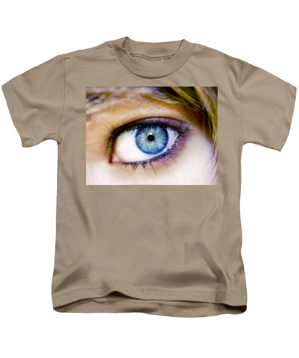 Eye Kids T-Shirt featuring the photograph Imagine by Kelly Jade King