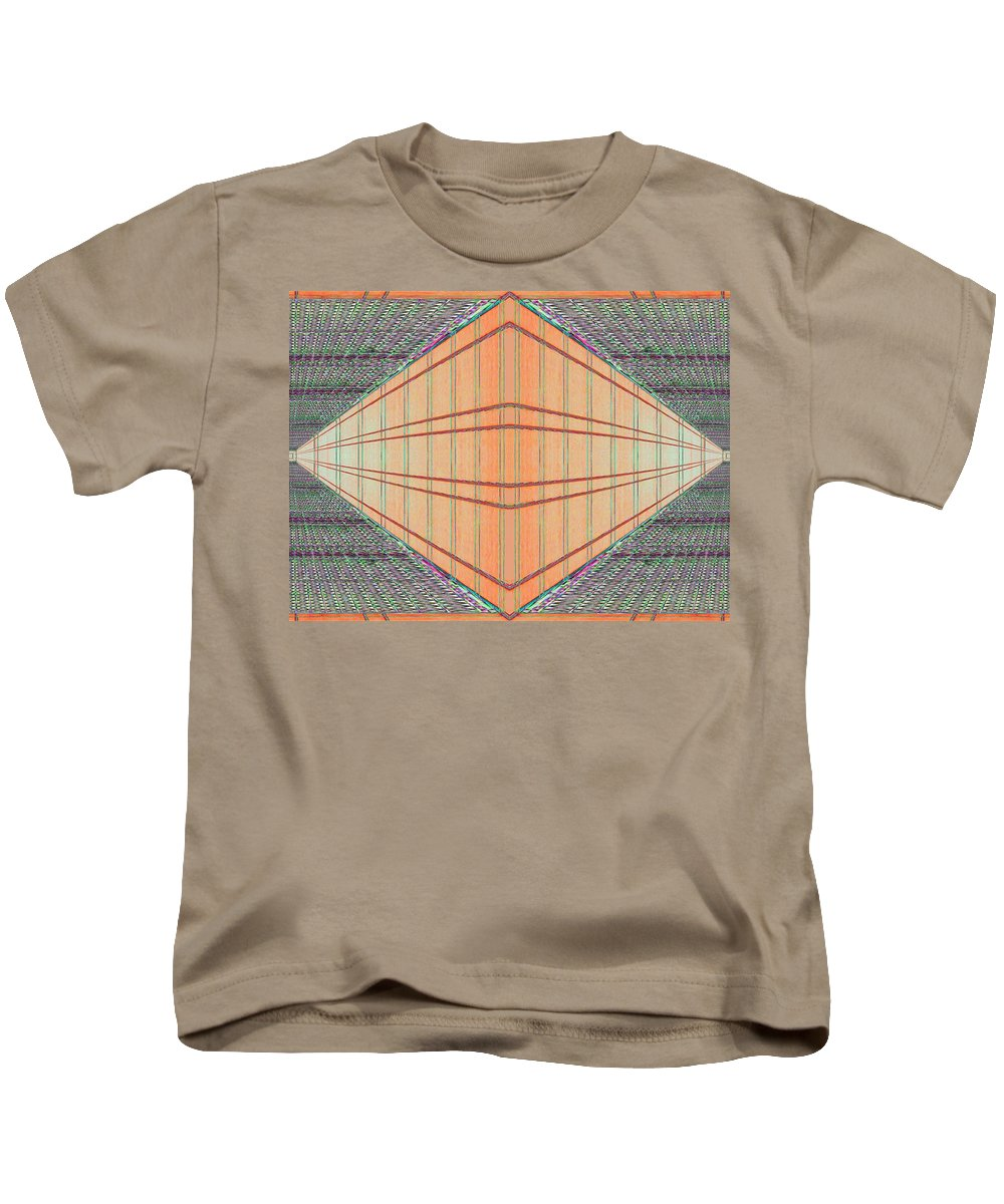 Architecture Kids T-Shirt featuring the photograph Intersect by Tim Allen