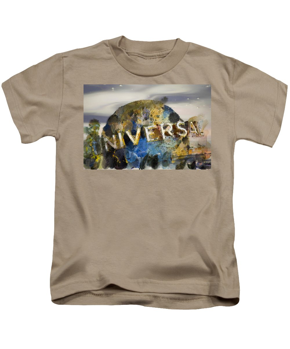 Universal Kids T-Shirt featuring the photograph It's A Universal Kind Of Day by Trish Tritz