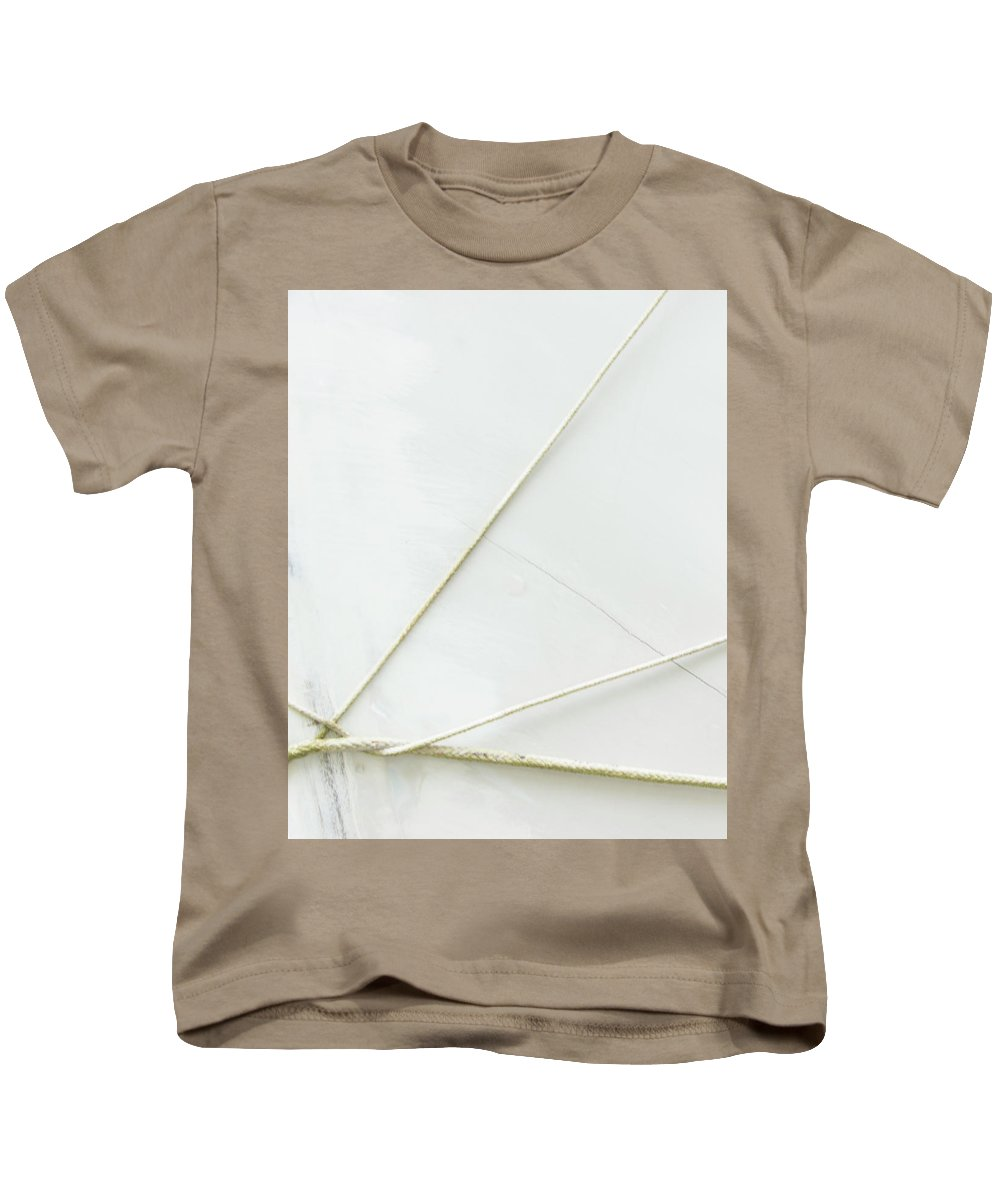 White Kids T-Shirt featuring the photograph Jacks by Dorothy Hilde