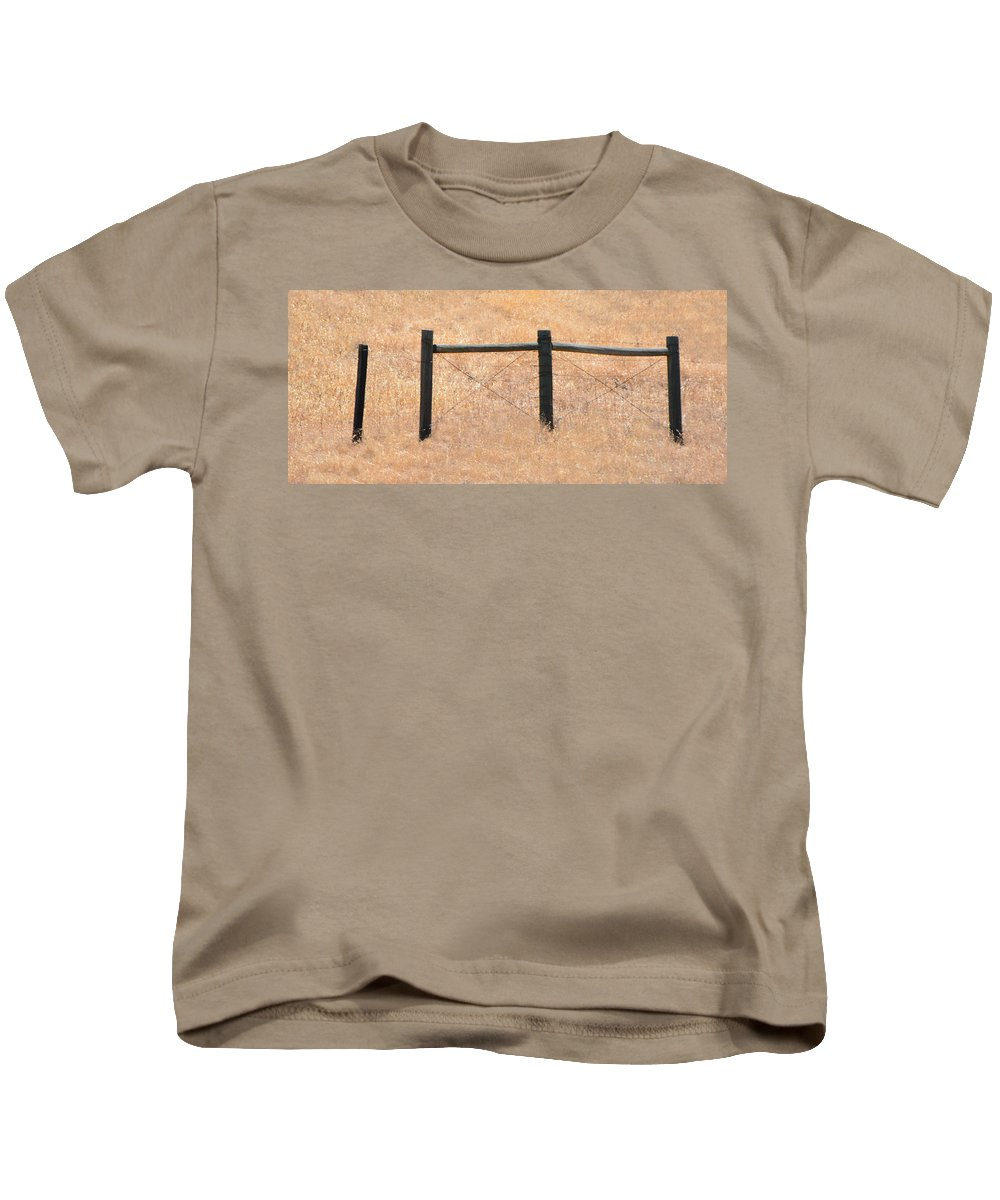 Posts Kids T-Shirt featuring the photograph Left Out by Josephine Buschman