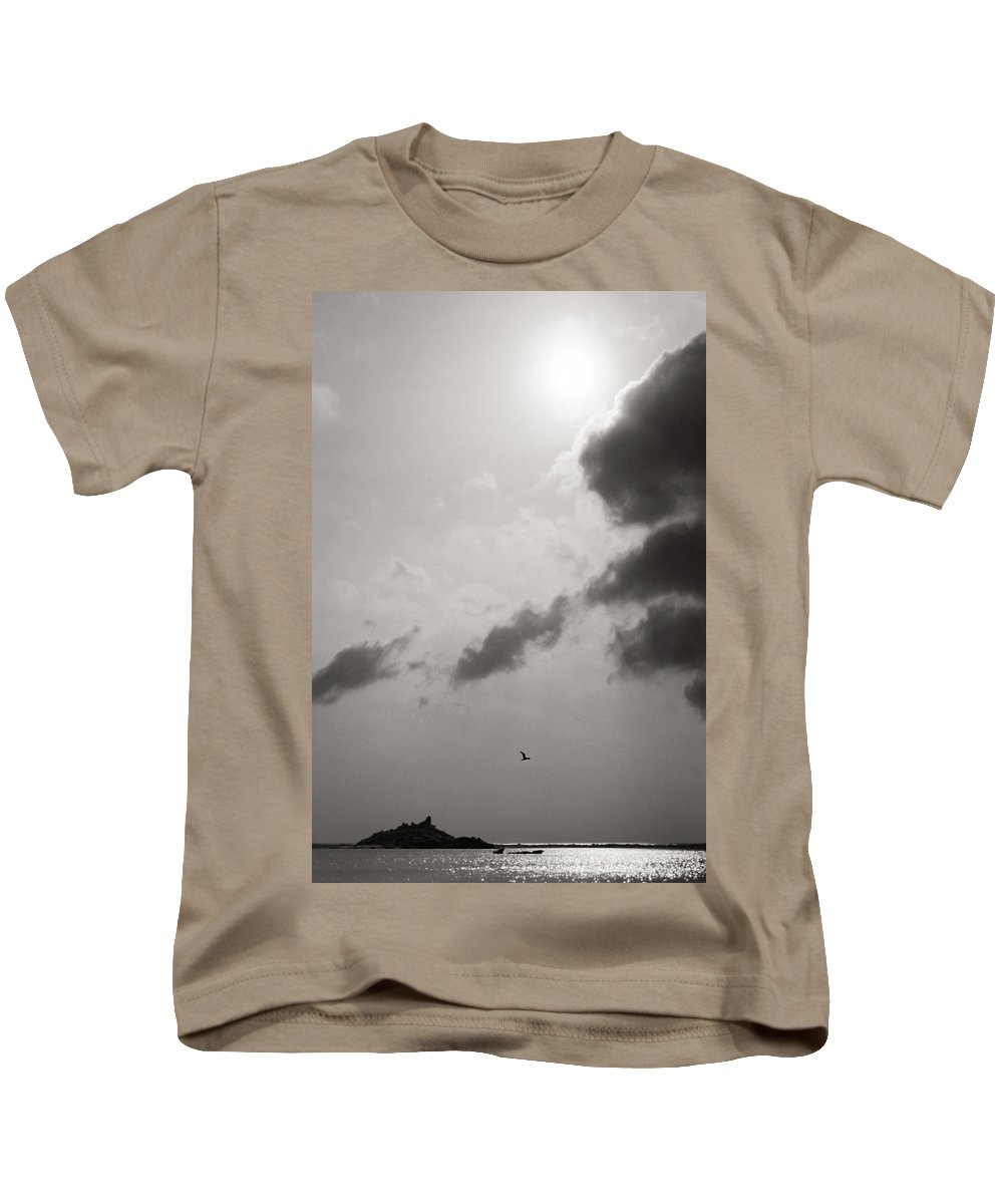 Abstract Kids T-Shirt featuring the photograph Light Of The Sky by Konstantin Dikovsky