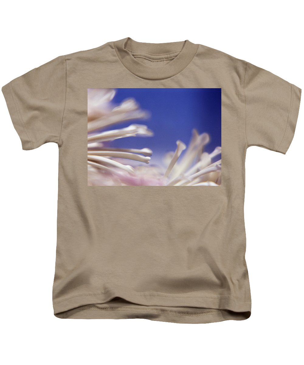 Macro Kids T-Shirt featuring the photograph Macro Flower 2 by Lee Santa
