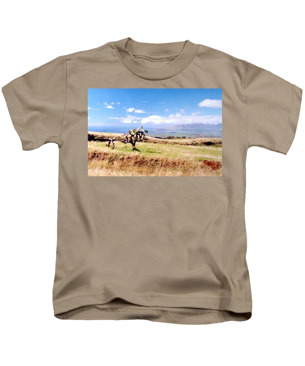 1986 Kids T-Shirt featuring the photograph Maui Upcountry by Will Borden