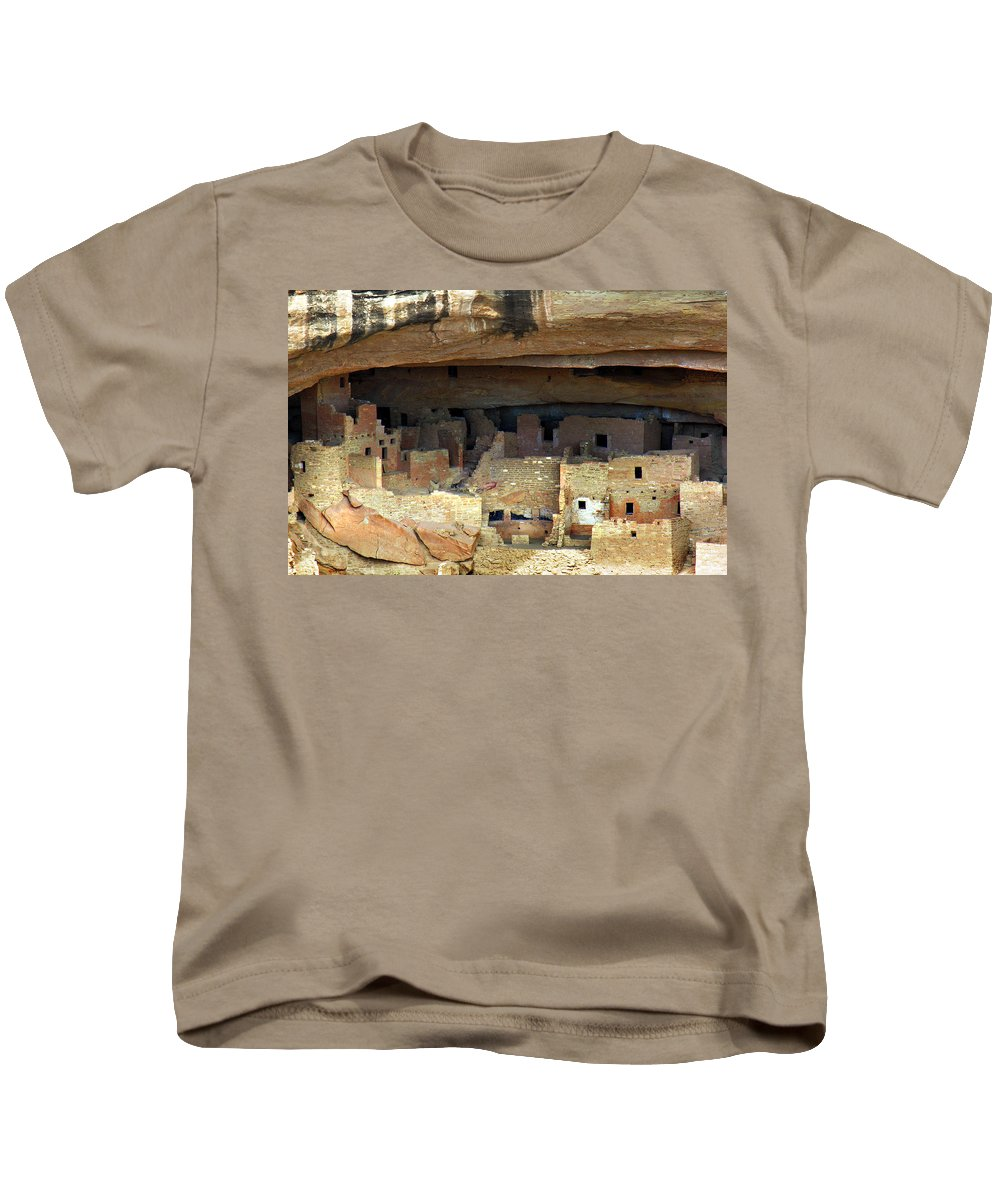 Americana Kids T-Shirt featuring the photograph Mesa Verde by Marilyn Hunt