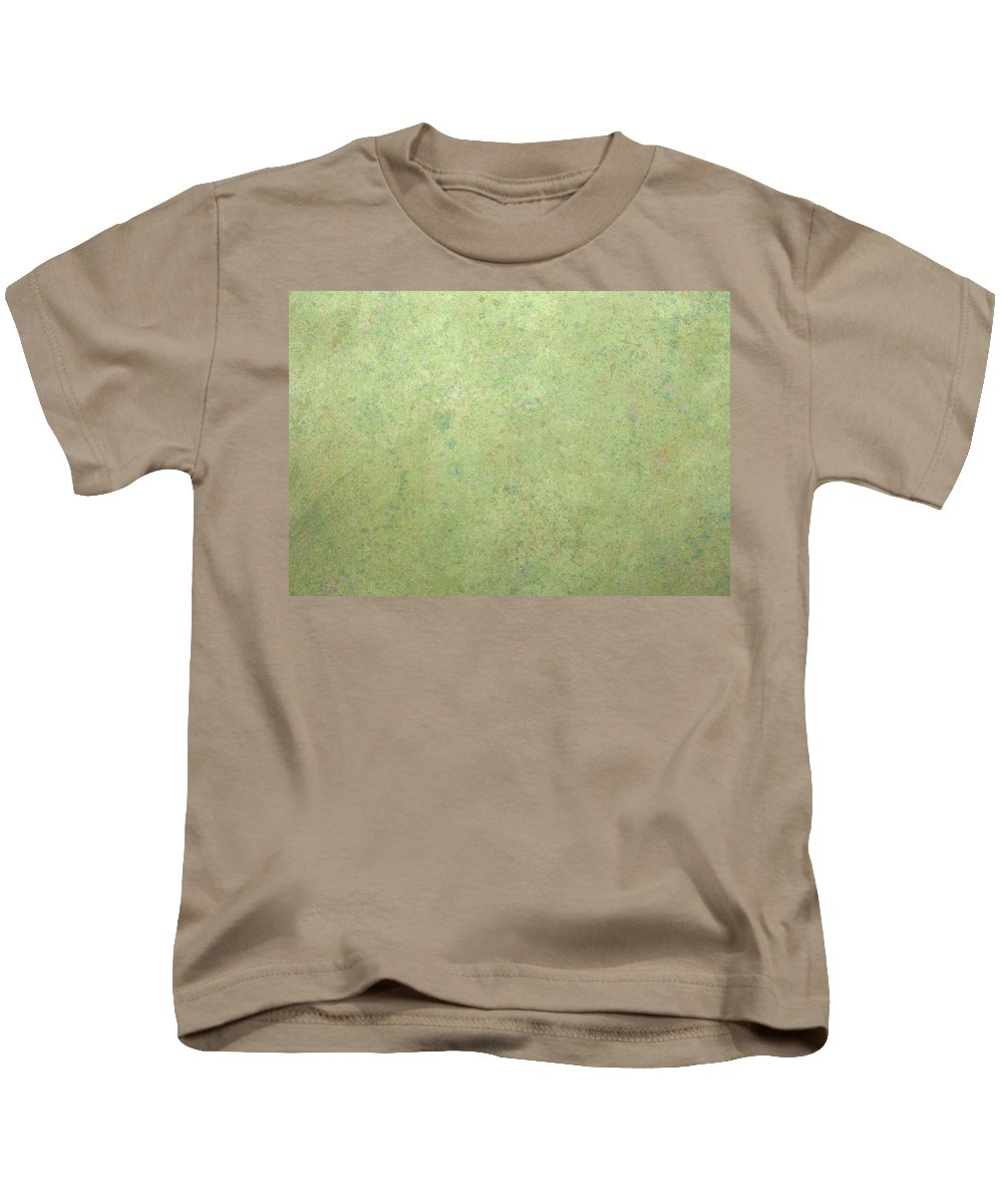 Minimal Kids T-Shirt featuring the painting Minimal Number 1 by James W Johnson