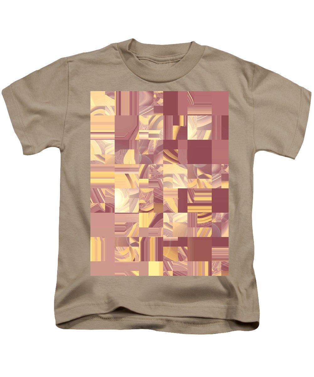Moveonart Digital Gallery San Francisco California Lower Nob Hill Jacob Kane Kanduch Kids T-Shirt featuring the digital art Moveonart Midwest Memories 2 by Jacob Kanduch