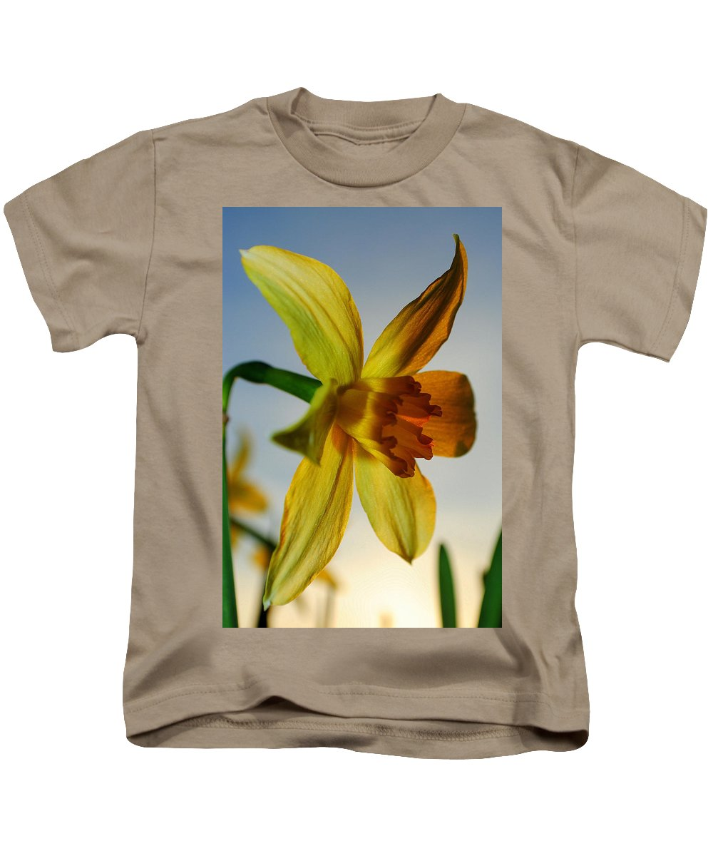 Sunset Kids T-Shirt featuring the photograph Natures Beauty by Frozen in Time Fine Art Photography