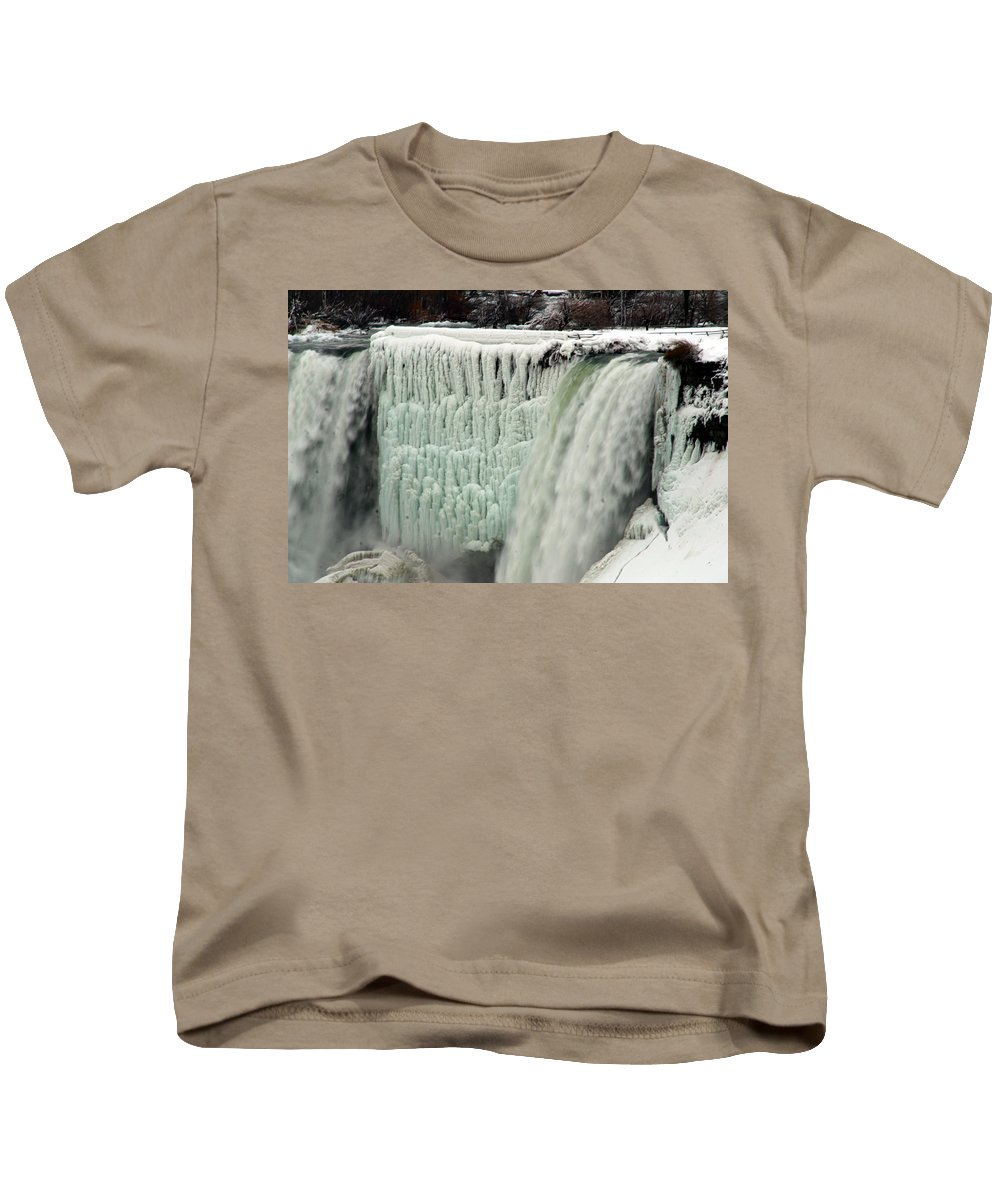 Landscape Kids T-Shirt featuring the photograph Niagara Falls 7 by Anthony Jones