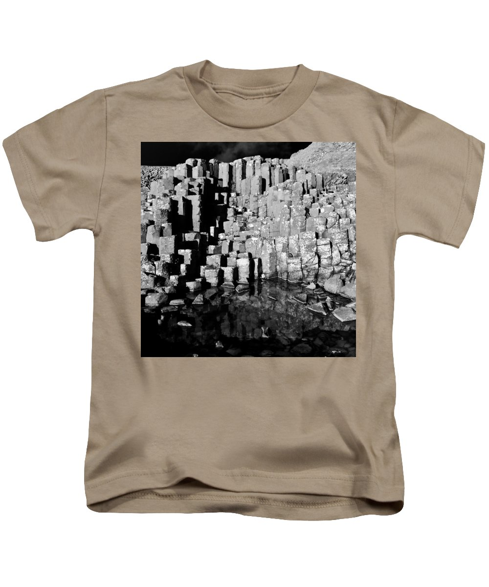 Causeway Kids T-Shirt featuring the photograph Northern Ireland 48 by Avril Christophe