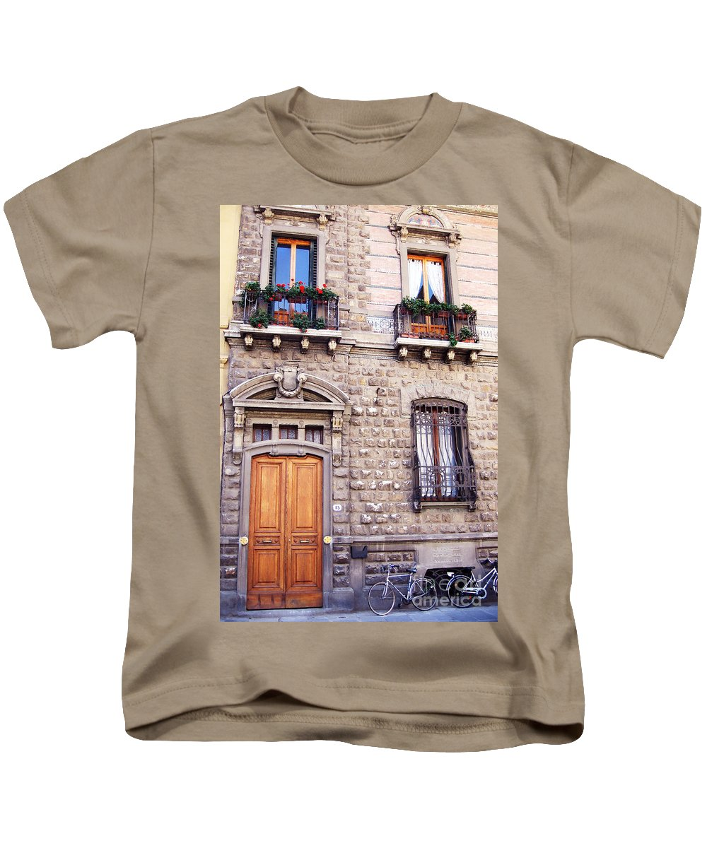 Forence Kids T-Shirt featuring the photograph Number Fifteen by Rhonda Chase